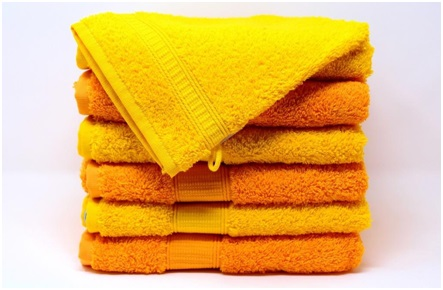 towels and blankets as cushioning materials